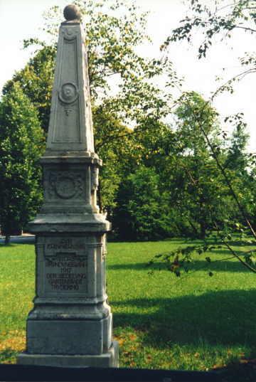 Gründungs-Denkmal Gartenstadt Trudering